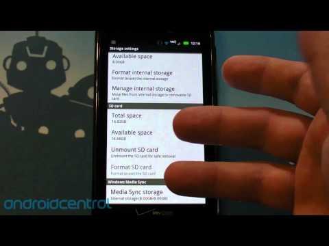 Motorola RAZR review - software walkthrough