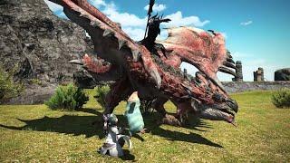 Final Fantasy 14 x Monster Hunter: World - Crossover Trailer