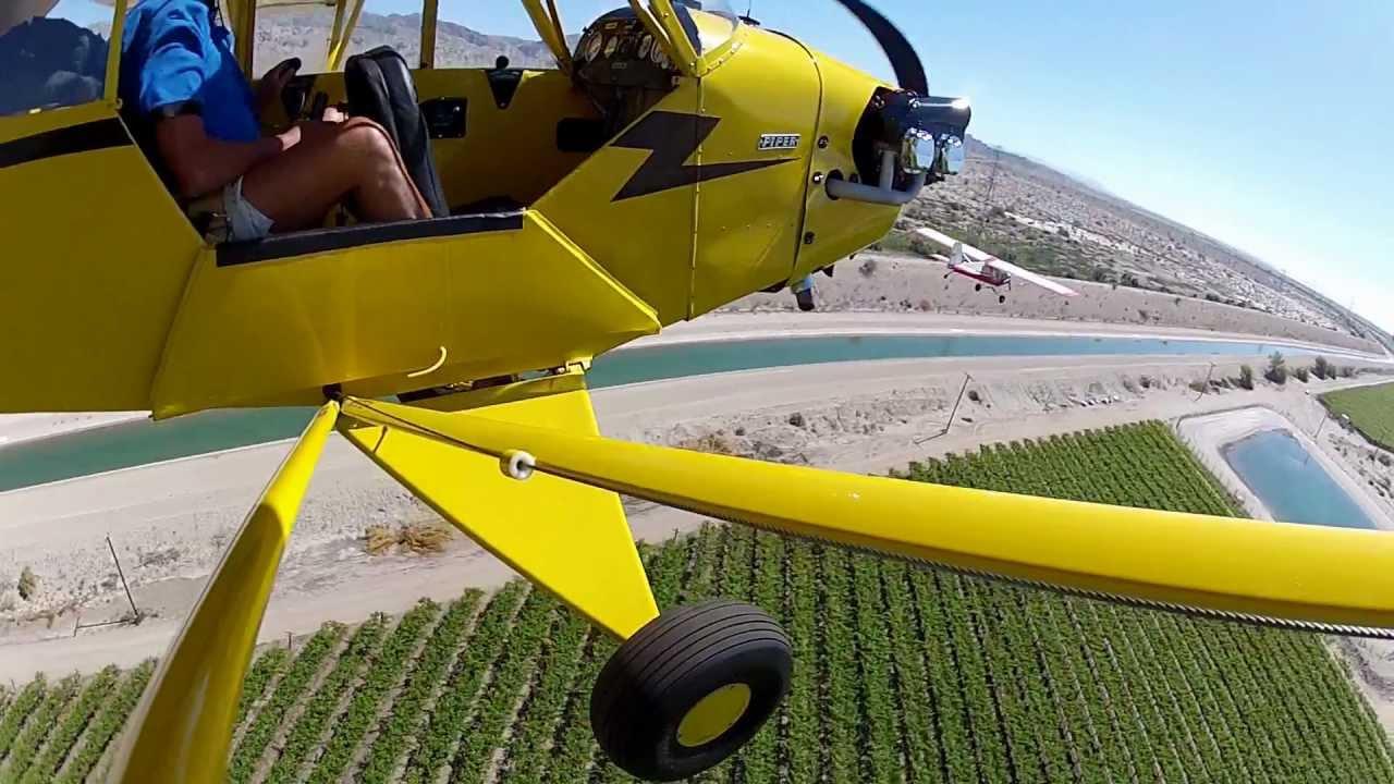 J3 PIPER Cub Spring flight - YouTube
