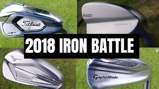 2018 Iron Battle Ping I500 Vs Taylormade P790 Vs Titleist Ap3 Vs Mizuno Jpx 919 Forged