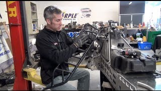 Ski-doo REV 700 Mod sled 159, running board install, episode #17, PowerModz!