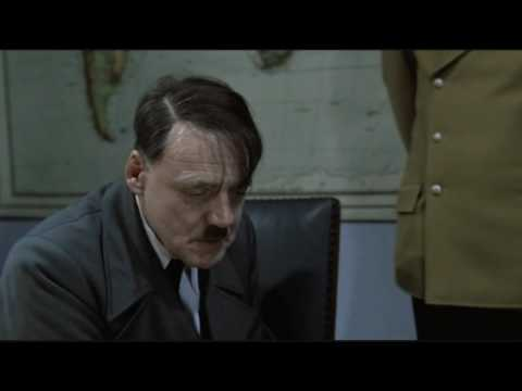 Hitler is informed that his video views are frozen