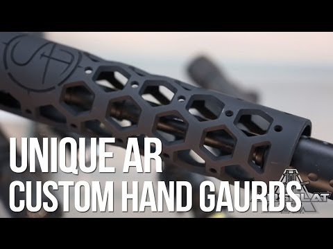 Unique AR Custom Airsoft Gun Rails Real Steel Handguards - AirSplat On Demand