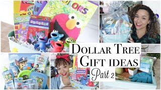 Dollar Tree Gift Ideas - DIY Gift Baskets