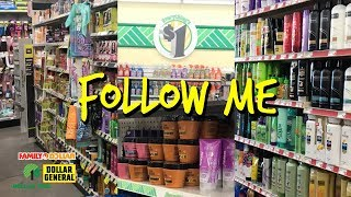 Dollar General, Family Dollar, & Dollar Tree : Follow Me To Look At Hair Products!