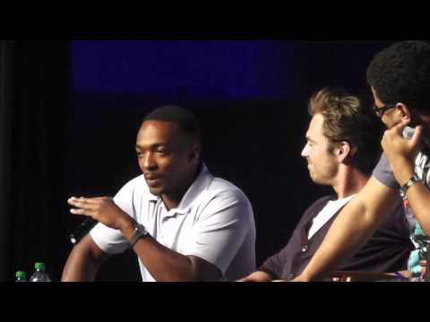 Captain America: Winter Soldier's Sebastian Stan & Anthony Mackie Panel WW Philly