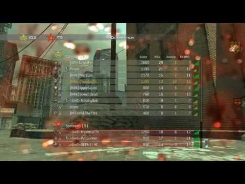 Modern Warfare 2: Skidrow Domination NBK Vs. UwG (Unofficial Match)