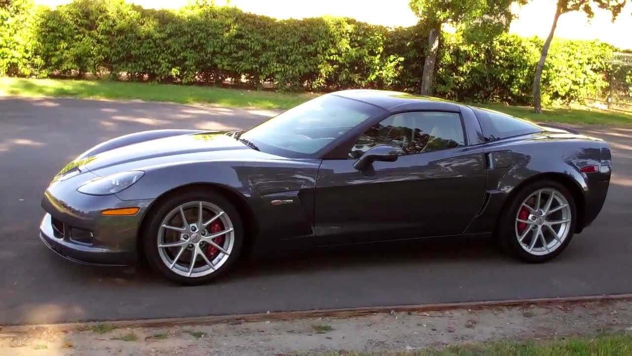 Sold 2010 Corvette Z06 Cyber Gray 4 For Sale By Corvette