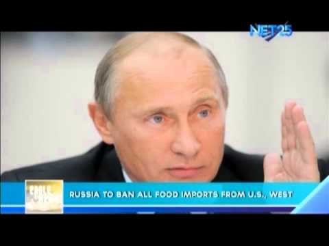 Russia to ban all food imports from U.S., West