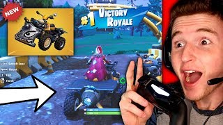 *NEW* QUAD CRUSHER IN FORTNITE IS INSANE! (Winning With The Quad Crusher)