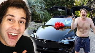 SURPRISING SON WITH DREAM CAR!! (FREAKOUT)