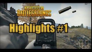 PlayerUnknown's Battlegrounds | Highlights #1 (PUBG)