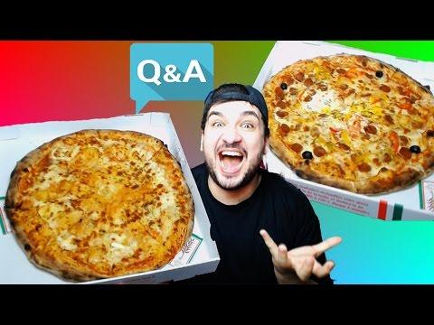 تحدي أكل أكبر بيتزا في فرنسا و أصعب اسئلة في العالم