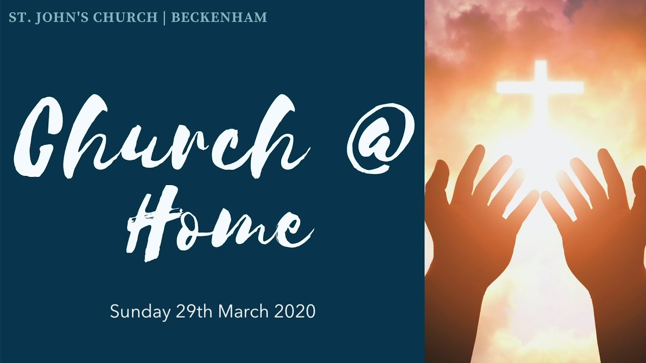 Sunday Service 29th March 2020