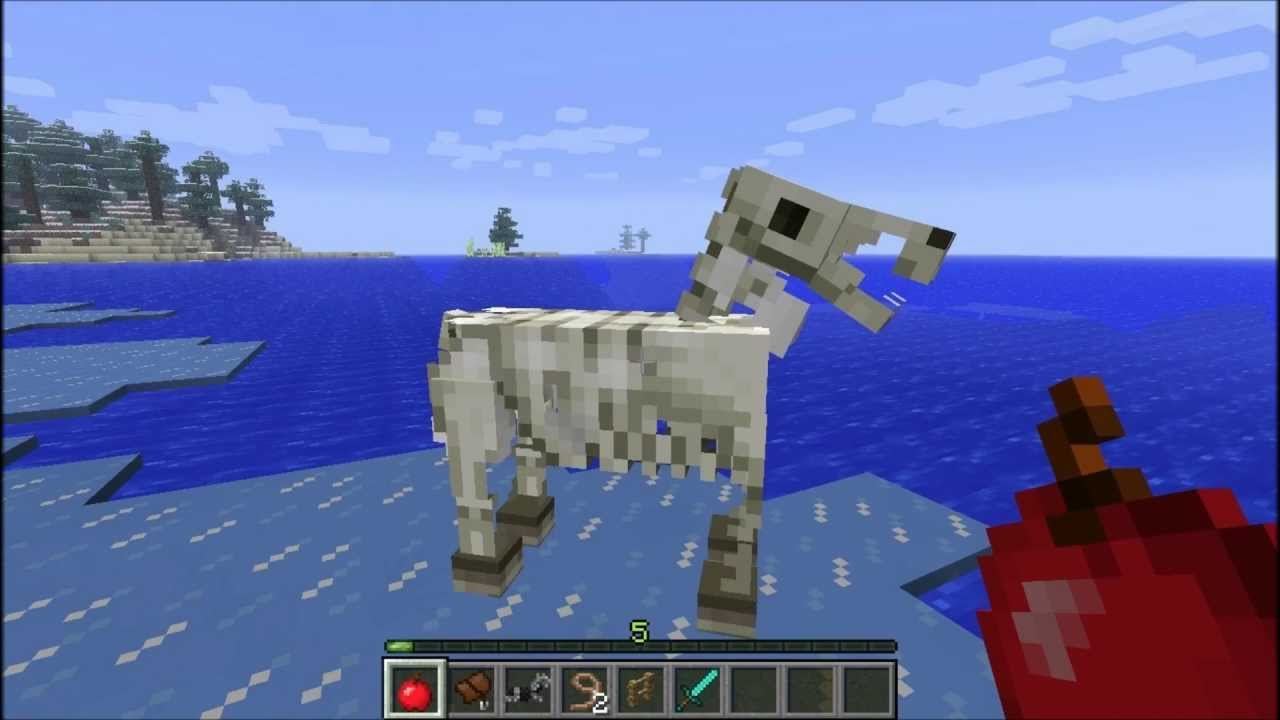 Лошадь | Как сделать в Майнкрафт