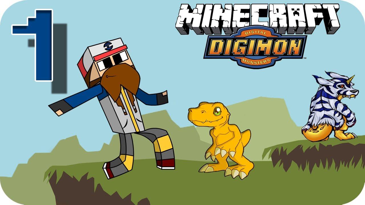 Frigoadri digimon en minecraft