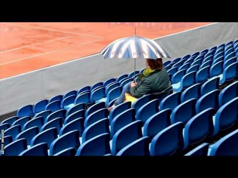 Andy Murray v Lukas Rosol delayed by rain at Munich Open