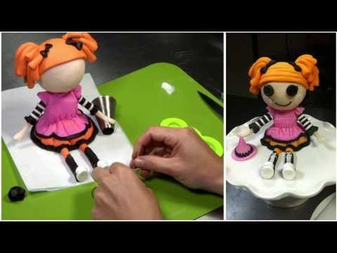 Lalaloopsy- Halloween tutorial (How-to)-Mixing-it-up!