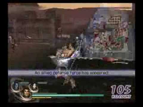 Lu Bu: Warriors Orochi Chaos Mode Solo Run