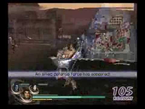 Lu Bu: Warriors Orochi Chaos Mode Solo Run
