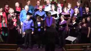 "Brewer, Thatcher & Choir Sing ""Love Came Gently""—Seattle Unity—12-15-2013"