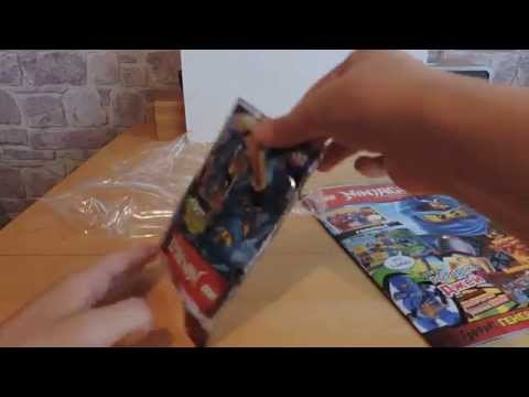 Lego NinjaGO  Лего НиндзяГО журнал (№5) Джей
