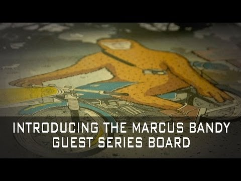 Comet Skateboards // Marcus Bandy Guest Model