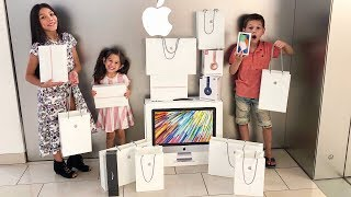 NO BUDGET AT THE APPLE STORE | Familia Diamond