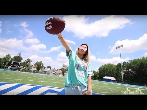 NFL USA Football Youth Empowerment Camp: All In A Day With Jen From BK