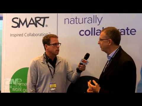 ISE 2015: Gary Kayye Talks with Neil Gaydon, CEO and President of SMART Technologies