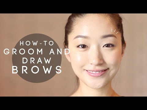 HOW-TO: Groom and draw Brows - YouTube