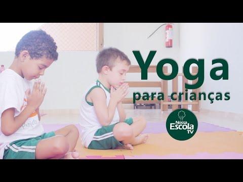 Yoga para Crianças - Oficina Nossa Escola