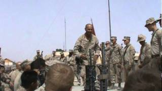Speech before deadly push through Afghanistan.