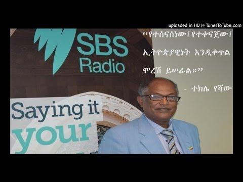 Interview With Tekle Yeshaw - SBS Amharic