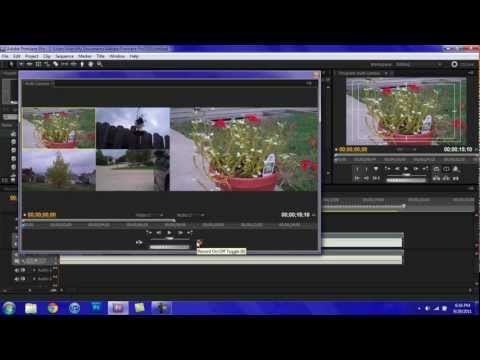 Adobe Premiere Pro CS5 Tutorial: Multi-Camera Monitor