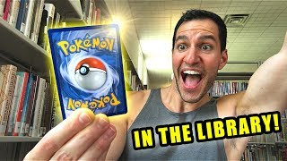 *HYPER RARE CARDS PULLED IN LIBRARY!* Opening Pokemon Cards UNBROKEN BONDS Booster Box!