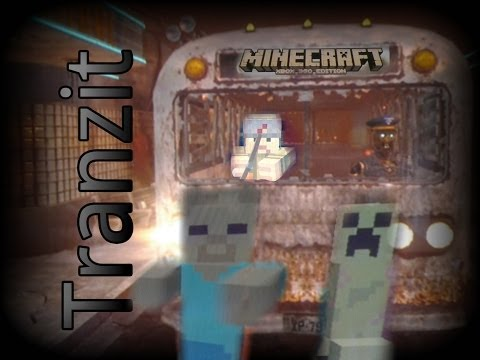 Minecraft Tranzit: Bus Depot. Diner and Farm