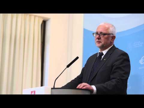 Algirdo Butkevičiaus ir Dainiaus Pavalkio spaudos konferencija