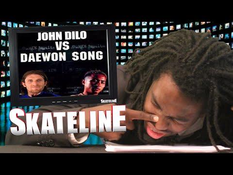 SKATELINE - John Dilo Vs Daewon Song, FA Aidan Mackey, Ben Hatchell, Julian Lewis,  Bob Burnquist