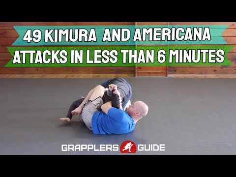 49 Kimura and Americana Attacks in Less Than 6 Min - Jason Scully BJJ Grappling
