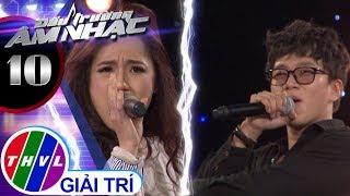THVL | Đấu trường âm nhạc - Tập 10[7]: Hương đêm bay xa - Quỳnh Như, Minh Dũng