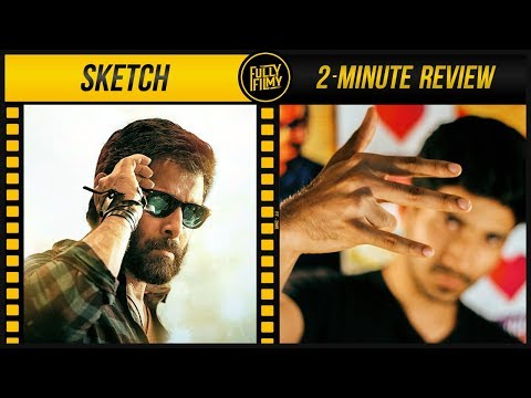 Sketch 2-Minute Review | Chiyaan Vikram | Tamannaah | Fully Filmy
