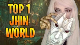 TOP 1 JHIN WORLD - BOB LEE SWAGGER