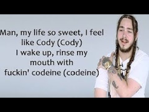 Post Malone - Zack and Codeine (Lyrics)