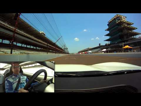 Lap of Indianapolis Motor Speedway with Scott Pruett