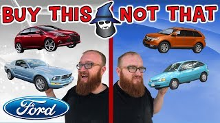 The CAR WIZARD shares the top Ford Cars TO Buy & NOT to Buy!