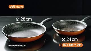 Delimano set 2 tiganja -50%