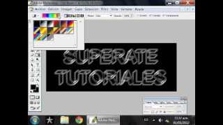 TUTORIAL PHOTOSHOP: efecto texto cristal en 3D