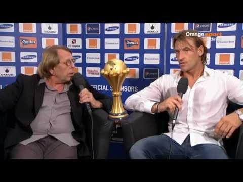 CAN 2012 - Hervé Renard's First Comment - Premier Mot d'Hervé Renard après le Sacre Africain