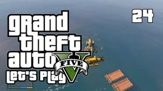 GTA V - Let's Play/Walkthrough - Mission 26: The Merryweather Heist - #24 (GTA 5 Gameplay)